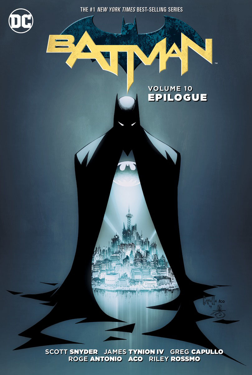 Batman: Volume 10: Epilogue batman volume 1 the court of owls