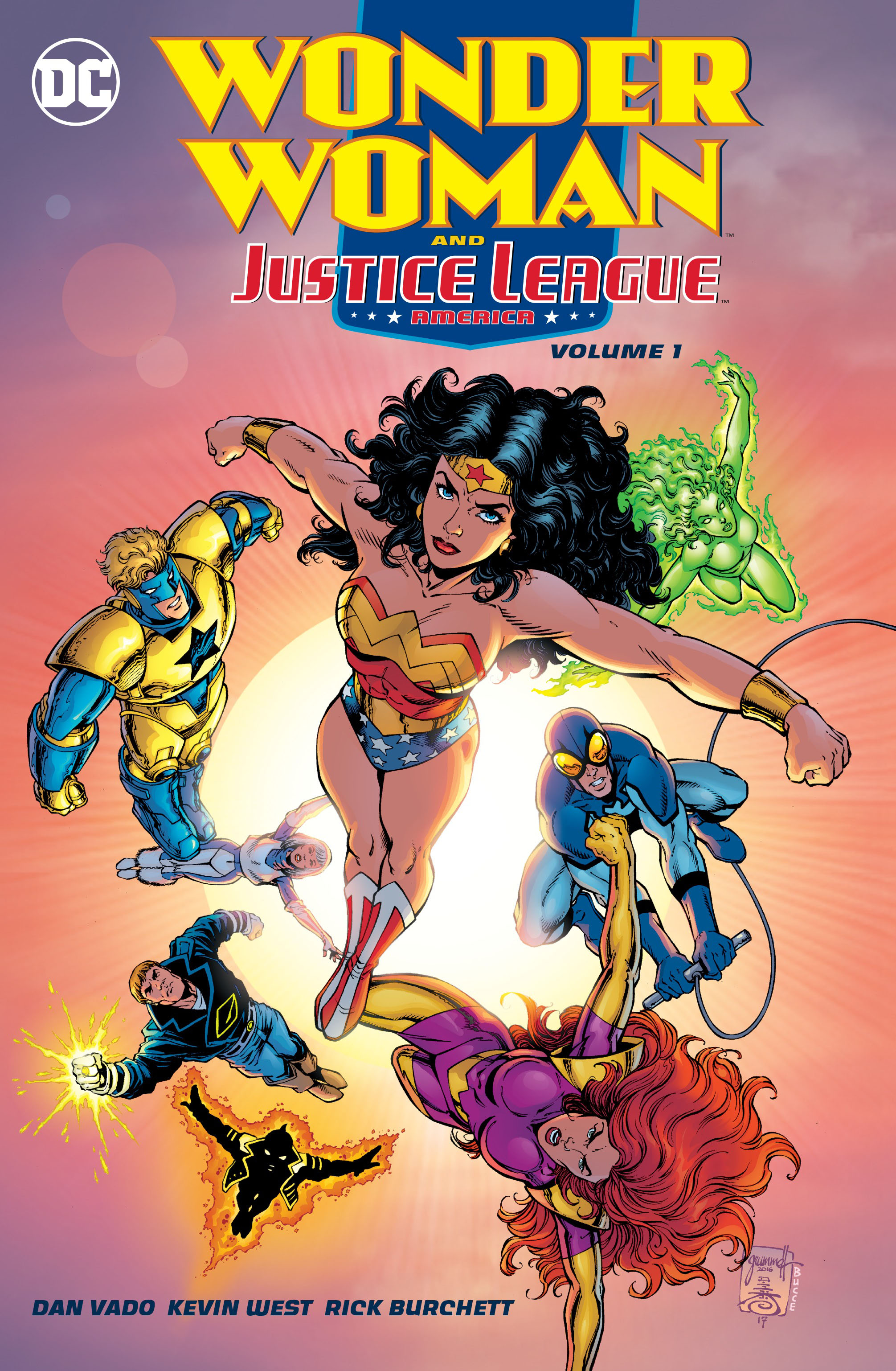 Wonder Woman and the Justice League America Vol. 1 wonder woman the golden age omnibus vol 1