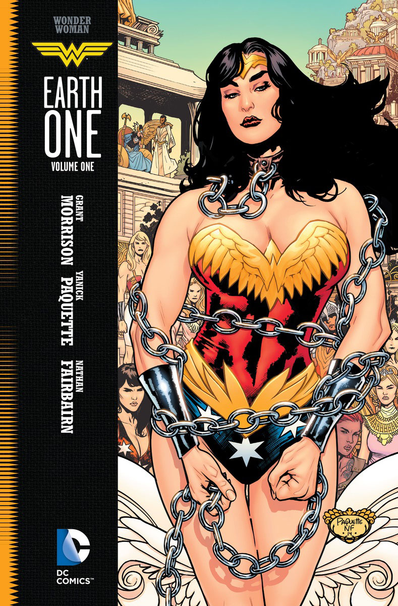 Wonder Woman: Earth One Vol. 1 brian azzarello wonder woman volume 1 blood