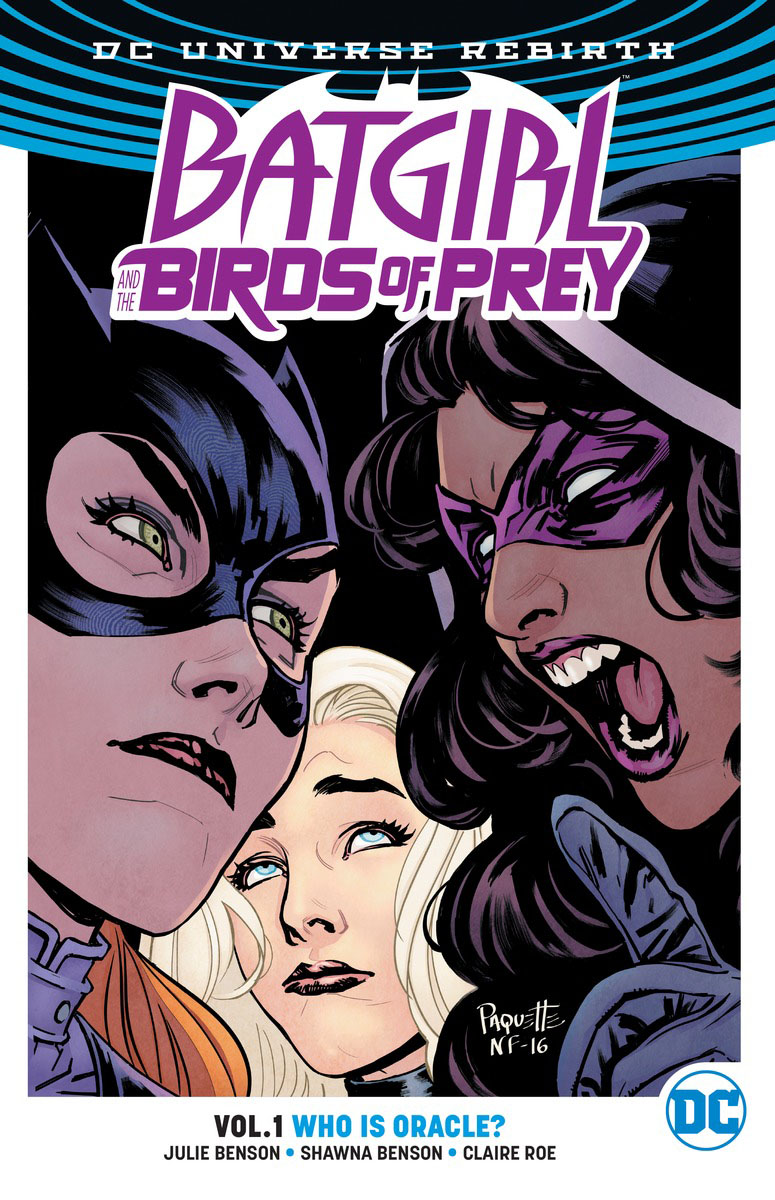 Batgirl And The Birds Of Prey Vol. 1: Who Is Oracle? (Rebirth) the ghost and the femme fatale