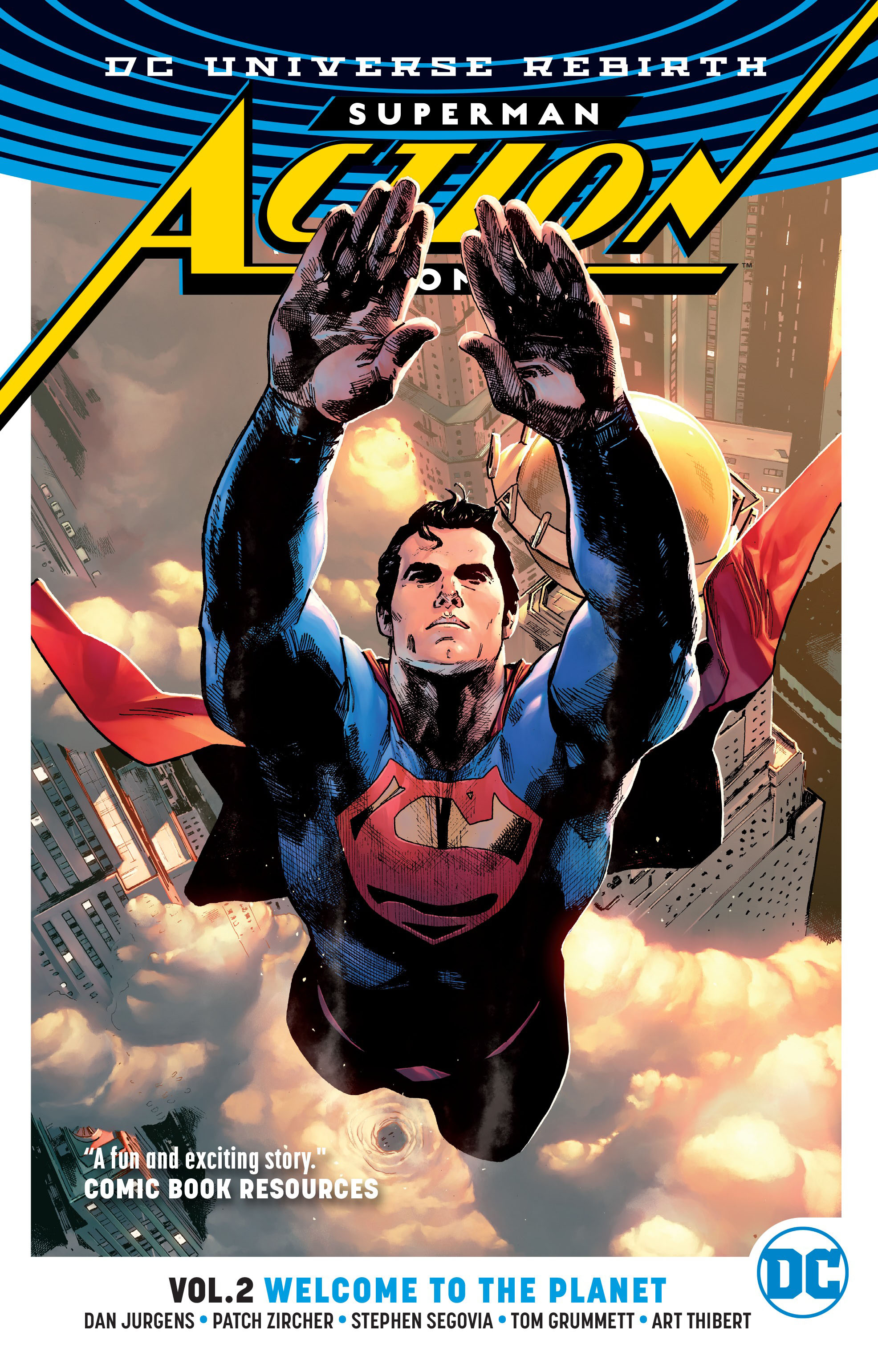 Superman: Action Comics Vol. 2: Welcome to the Planet (Rebirth) the complete crumb comics vol 8