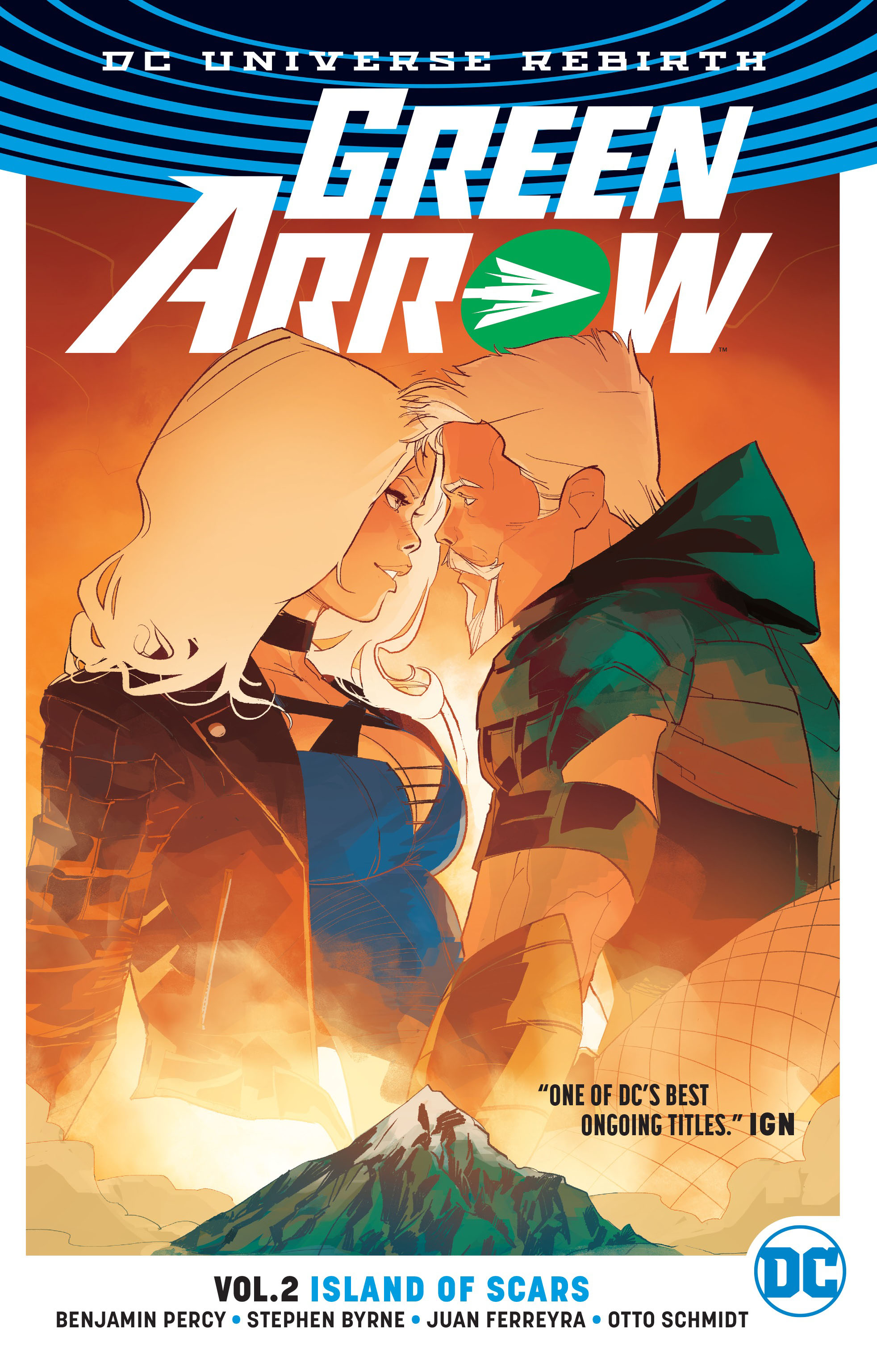 Green Arrow Vol. 2: Island of Scars (Rebirth) oliver simon fbp federal bureau of physics vol 4