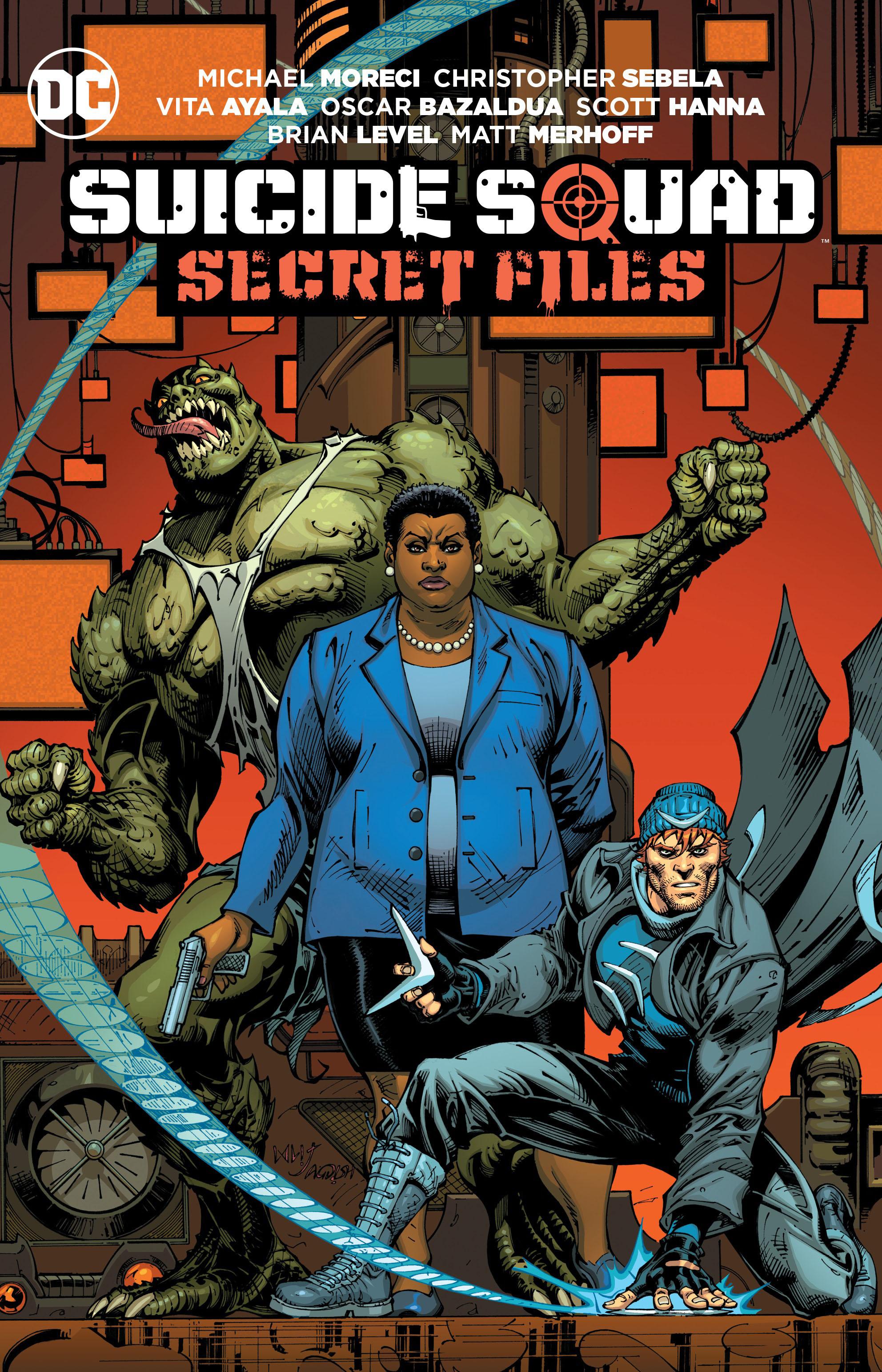 Suicide Squad: Secret Files suicide squad vol 3 burning down the house rebirth
