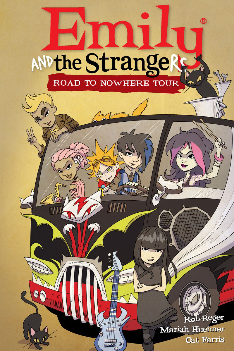Emily and the Strangers Volume 3: Road to Nowhere Tour хайлайтер thebalm themanizer sisters