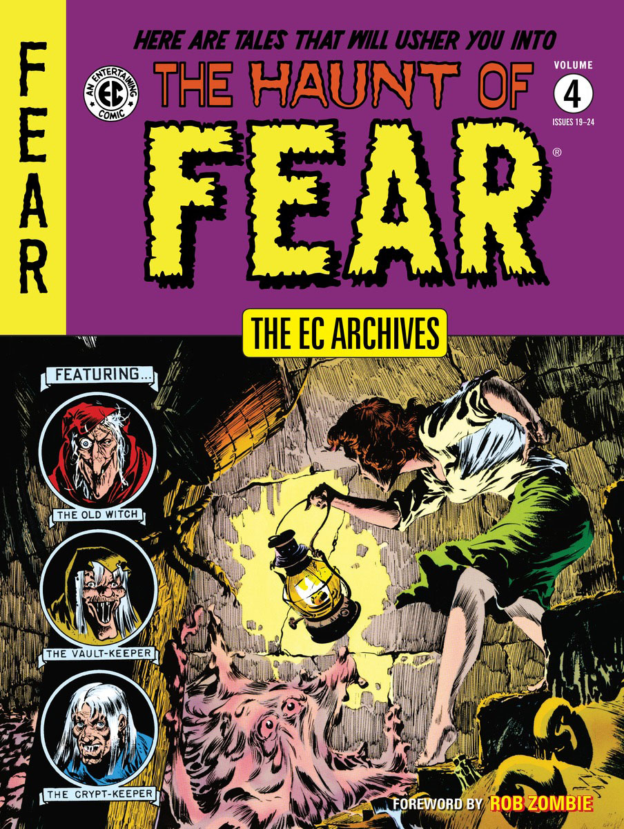 The EC Archives: The Haunt of Fear Volume 4 туника evans evans ev006ewock36