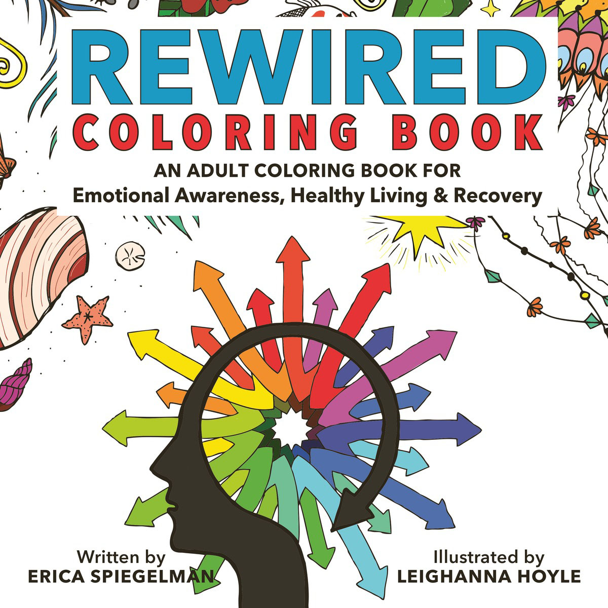 цена на Rewired Adult Coloring Book