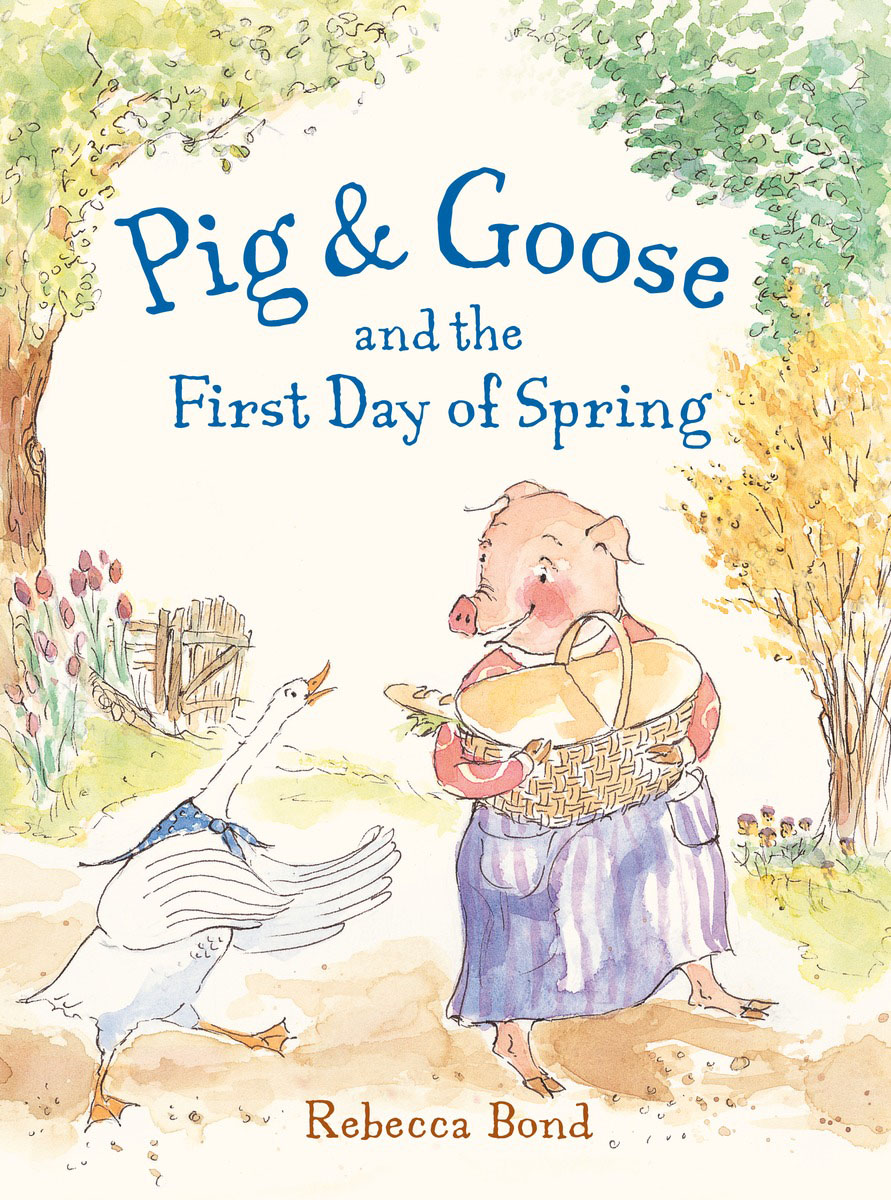 Pig & Goose and the First Day of Spring stink and the great guinea pig express
