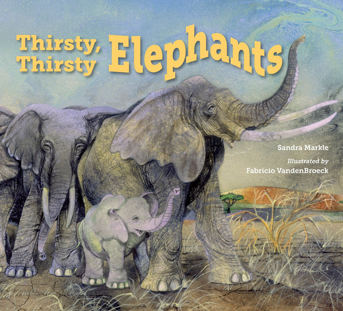 Thirsty, Thirsty Elephants becoming grandma page 9