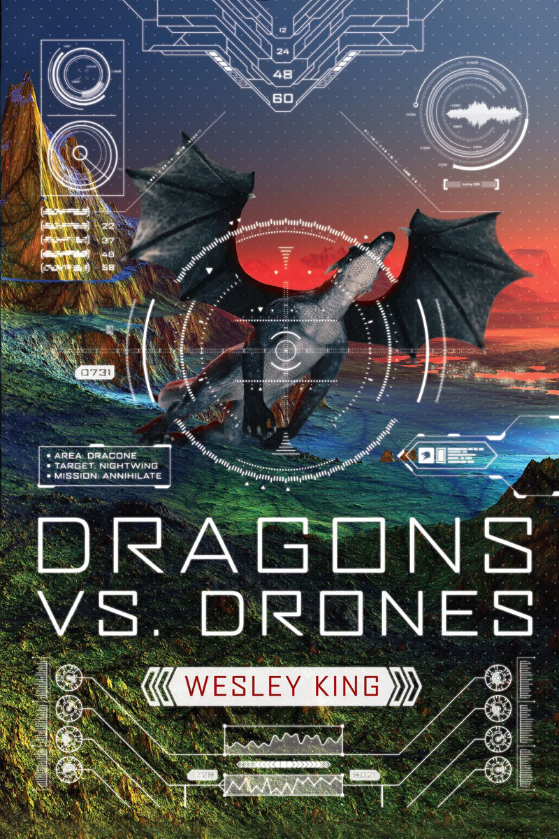 Dragons vs. Drones dragons from mars
