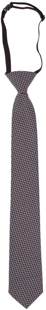 Галстук для мальчика Gulliver, цвет: серый. 217GSBC8604. Размер 122/140217GSBC8604Красивый галстук для школьной формы - достойное завершение делового ансамбля. Для удобства и экономии драгоценного утреннего времени, модель имеет аккуратную прищепку в невидимой зоне, позволяющую в течение нескольких секунд прикрепить галстук к воротнику рубашки. Купить галстук на прищепке, значит, приобрести стильный и удобный аксессуар для создания образа серьезного, уверенного в себе юноши.