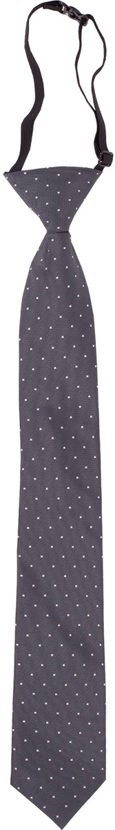 Галстук для мальчика Gulliver, цвет: темно-серый. 217GSBC8603. Размер 122/140217GSBC8603Красивый галстук для школьной формы - достойное завершение делового ансамбля. Для удобства и экономии драгоценного утреннего времени, модель имеет аккуратную прищепку в невидимой зоне, позволяющую в течение нескольких секунд прикрепить галстук к воротнику рубашки. Купить галстук на прищепке, значит, приобрести стильный и удобный аксессуар для создания образа серьезного, уверенного в себе юноши.