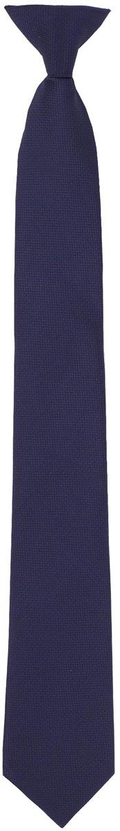 Галстук для мальчика Gulliver, цвет: темно-синий. 217GSBC8608. Размер 146/164217GSBC8608Красивый галстук для школьной формы - достойное завершение делового ансамбля. Для удобства и экономии драгоценного утреннего времени, модель имеет аккуратную прищепку в невидимой зоне, позволяющую в течение нескольких секунд прикрепить галстук к воротнику рубашки. Купить галстук на прищепке, значит, приобрести стильный и удобный аксессуар для создания образа серьезного, уверенного в себе юноши.