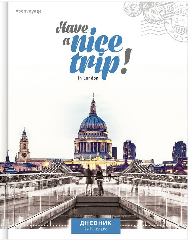 Спейс Дневник школьный Путешествия Nice Trip спейс дневник школьный россия коллаж для 5 11 классов