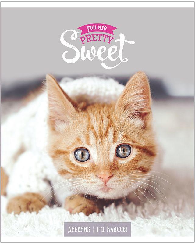 ArtSpace Дневник школьный Котенок brauberg дневник школьный милый котенок