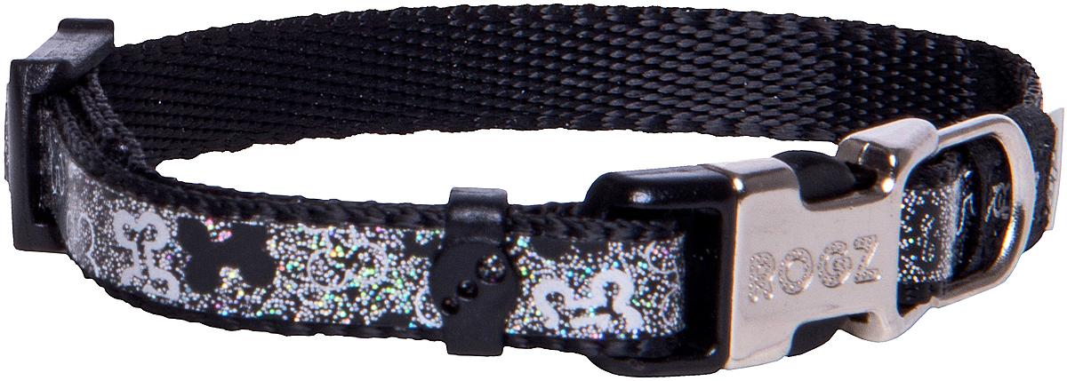 Ошейник для собак Rogz Trendy , цвет: серый, ширина 0,8 смHB520AОшейник для собак Rogz Trendy  обладает нежнейшей мягкостью и гибкостью.Светоотражающие материалы для обеспечения лучшей видимости собаки в темное время суток.