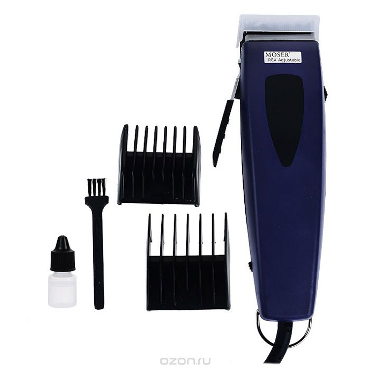 Машинка для стрижки животных Moser Rex Adjustable, со съемным ножом. 1233-0063 машинка 6 14791 для чистки цепи yc 791 в 2 х плоск с рукояткой голубая bikehand