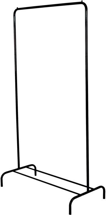 Вешалка гардеробная ЗМИ Радуга 1, с полкой для хранения обуви, цвет: черный, 82 х 39 х 150 смВНП 298 ЧВешалка Радуга 1 подойдет для размещения вашего гардероба. Альтернатива шкафу в спальне, детской и прихожей. Разборная конструкция позволяет приобрести данное изделие в коробке. Металлическая вешалка надежна и проста в уходе. Данное изделие полностью безопасно в использовании.Назначение: Гардеробная вешалка для размещения одежды. Область применения: В любых помещениях – дом, офис, общепит и других. Материал: Труба диаметров 18 мм, труба диаметром 12 мм; стальные шарики; полимерно-порошковое покрытие. Конструкция: Разборная. Упаковка: Коробка. Габариты (Д х Ш х В):В собранном виде: 820 х 390 х 1500 мм. В упакованном виде: 1290 х 405 х 45 мм. Вес Нетто: 1,84 кг. Вес Брутто: 2,34 кг. Объем: 0,024 куб.м. Отличительные особенности: - Пластиковые заглушки;- Нагрузка до 20 кг;- Вместимость до 15 плечиков;- Полка для размещения обуви.