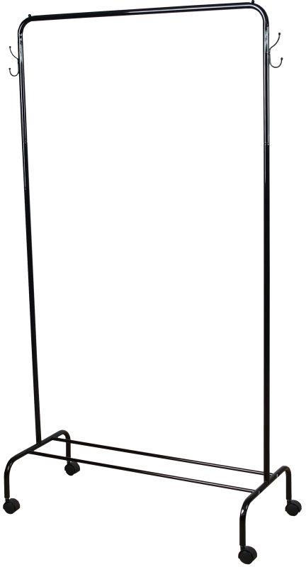 Вешалка гардеробная ЗМИ Радуга 2, с полкой для хранения обуви, цвет: черный, 89,2 х 39 х 154 смВНП 299 ЧВешалка Радуга 2 подойдет для размещения вашего гардероба. Альтернатива шкафу в спальне, детской и прихожей. Разборная конструкция позволяет приобрести данное изделие в коробке. Металлическая вешалка надежна и проста в уходе. Данное изделие полностью безопасно в использовании.Назначение: Гардеробная вешалка для размещения одежды. Область применения: В любых помещениях – дом, офис, общепит и других. Материал: Труба диаметров 18 мм, труба диаметром 12 мм; стальные шарики; полимерно-порошковое покрытие. Конструкция: Разборная. Упаковка: Коробка. Габариты (Д х Ш х В): В собранном виде: 892 х 390 х 1540 мм. В упакованном виде: 1290 х 405 х 45 мм. Вес Нетто: 2,06 кг. Вес Брутто: 2,56 кг. Объем: 0,023 м3. Отличительные особенности: - Пластиковые заглушки;- Нагрузка до 20 кг;- Вместимость до 15 плечиков;- Полка для размещения обуви.