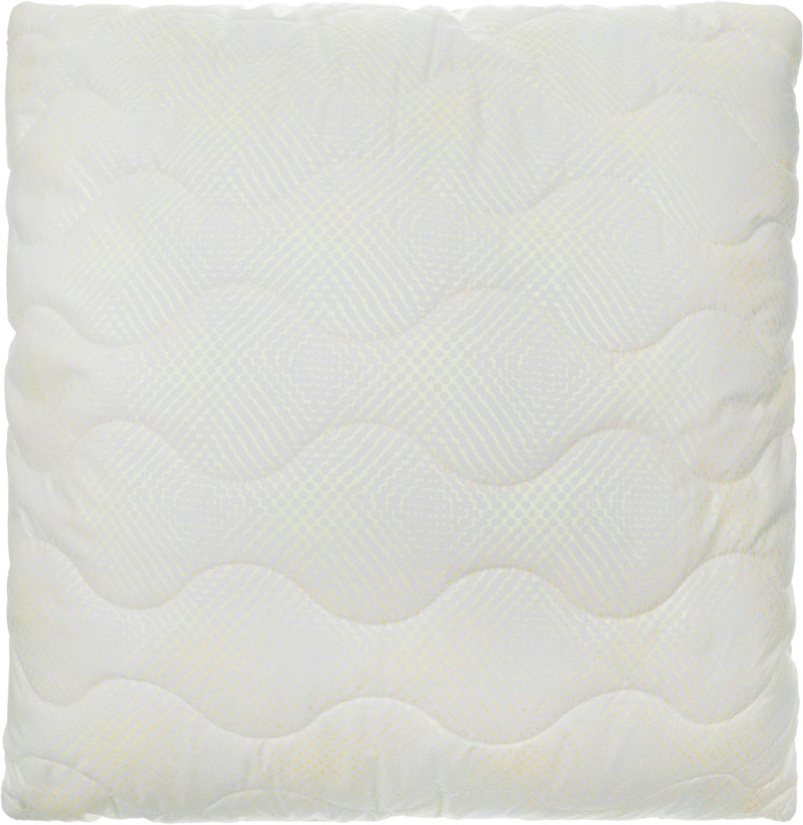 Подушка Ecotex Бамбук - Комфорт, наполнитель: полиэстер, 68 х 68 см подушки ecotex подушка алоэ вера 68х68