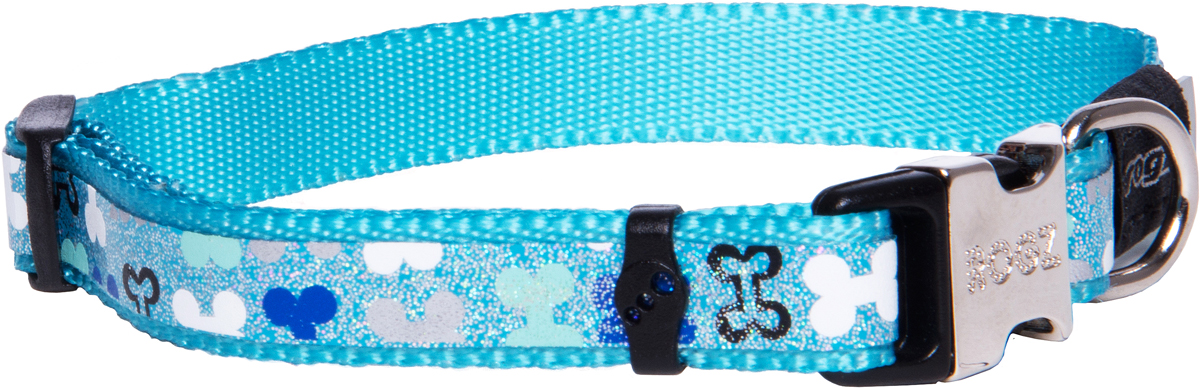 Ошейник для собак Rogz Trendy , цвет: голубой, ширина 1,2 смHL14AОшейник для собак Rogz Trendy  обладает нежнейшей мягкостью и гибкостью.Светоотражающие материалы для обеспечения лучшей видимости собаки в темное время суток.