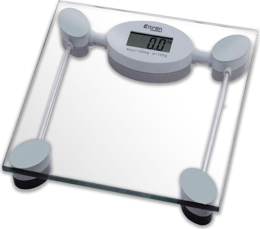 Весы напольные Eltron, электронные, цвет: прозрачный, до 180 кг. 9219EL весы eltron весы электронные