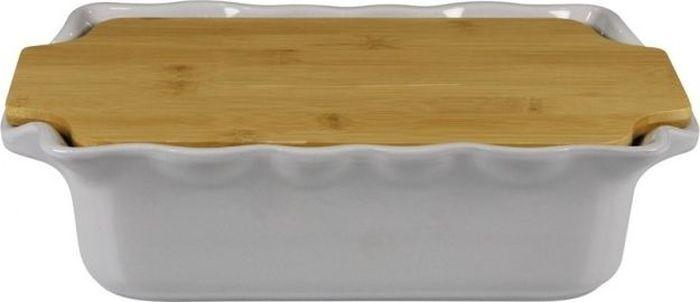 Форма для выпечки Appolia Cook&Stock, прямоугольная, с доской, цвет: серый, 2,7 л131033504В оригинальной коллекции Cook&Stoock присутствуют мягкие цвета трех оттенков. Закругленные углы облегчают чистку. Легко использовать. Компактное хранение. В комплекте натуральные крышки из бамбука, которые можно использовать в качестве подставки, крышки и разделочной доски. Прочная жароустойчивая керамика экологична и изготавливается из высококачественной глины. Прочная глазурь устойчива к растрескиванию и сколам, не содержит свинца и кадмия. Глина обеспечивает медленный и равномерный нагрев, деликатное приготовление с сохранением всех питательных веществ и витаминов, а та же долго сохраняет тепло, что удобно при сервировке горячих блюд.