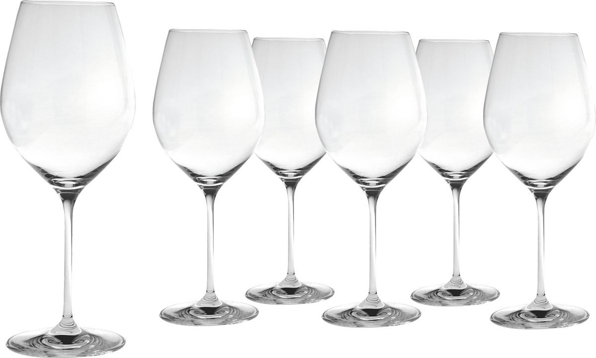 Набор бокалов Salt&Pepper Cuvee, для красного вина, 600 мл, 6 шт набор фужеров cuvee 6 штук объем 475 мл 1020892