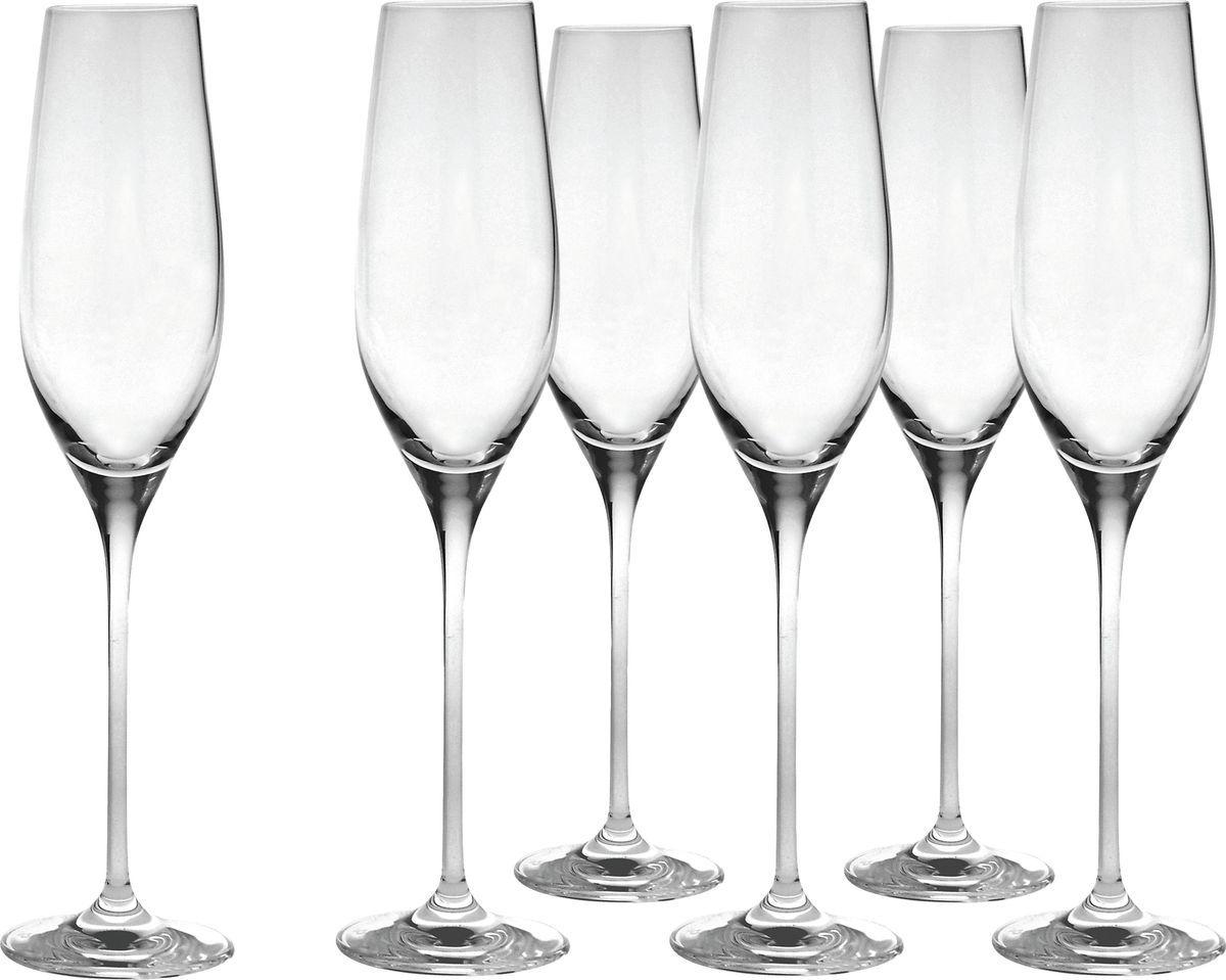 Набор бокалов для шампанского Salt&Pepper Cuvee, 210 мл, 6 шт набор фужеров cuvee 6 штук объем 475 мл 1020892