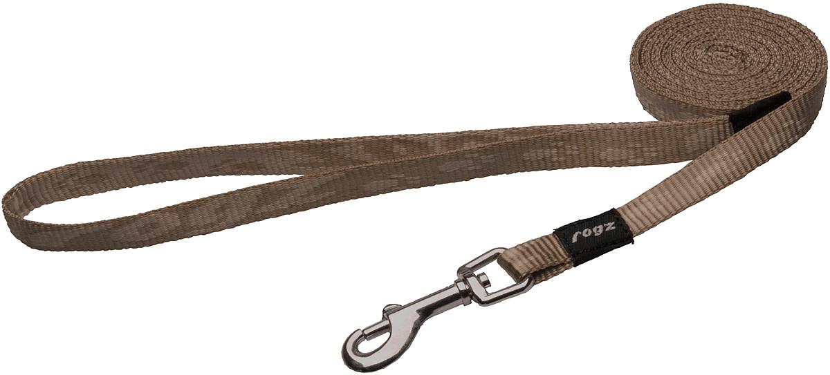 Поводок для собак Rogz Alpinist, цвет: золотистый, ширина 1,1 см. Размер SHL21MПоводок для собак Rogz Alpinist изготовлен из нейлона и снабжен металлическим карабином. Особо мягкая, но очень прочная лента обеспечит безопасность на прогулке даже самым активным собакам.Все соединения деталей имеют специальную дополнительную строчку для большей прочности. Выполненные специально по заказу Rogz литые кольца гальванически хромированы, что позволяет избежать коррозии и потускнения изделия.