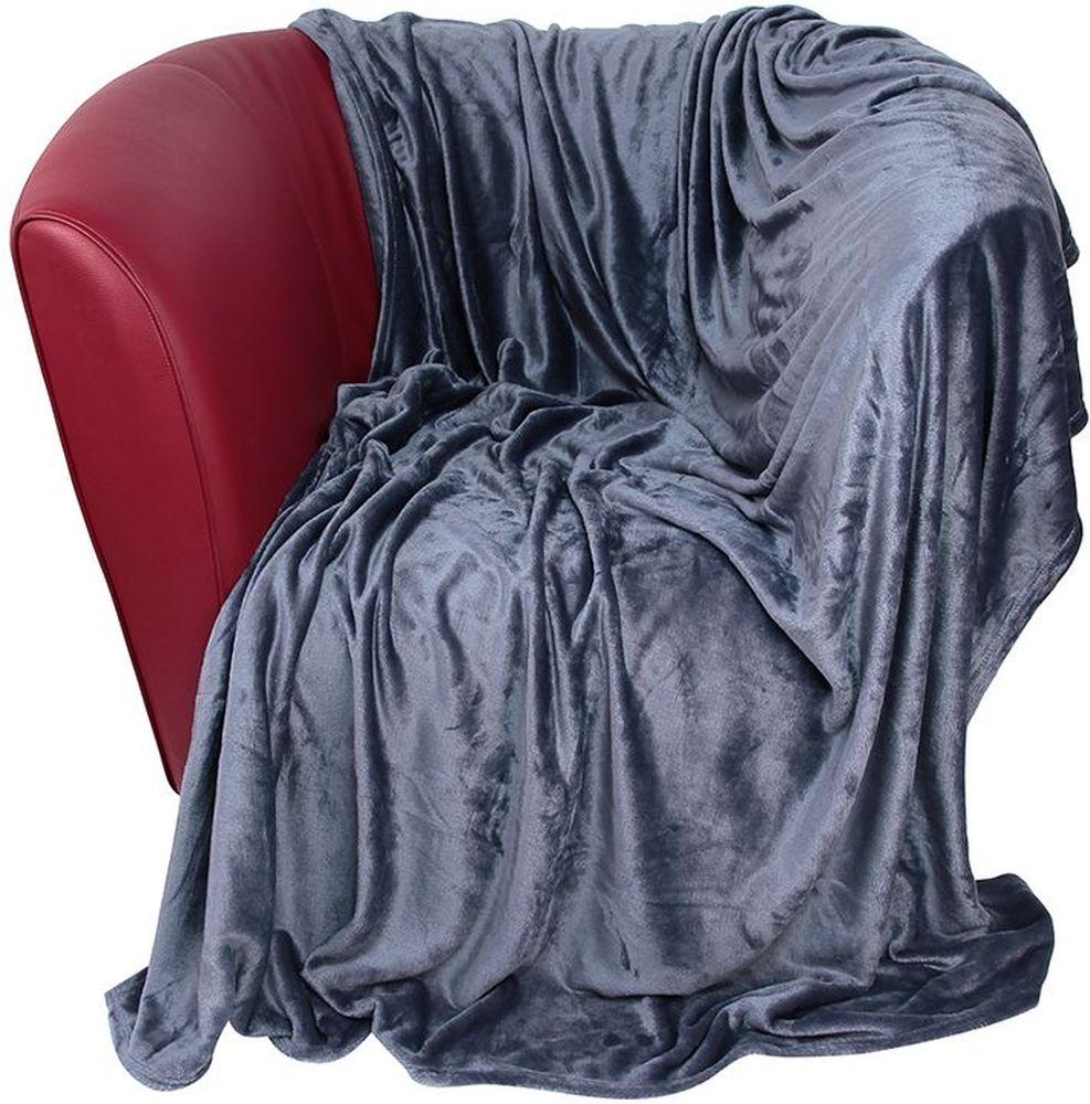 Плед EL Casa, цвет: серый, 200 х 230 см960048Уютный, легкий и прочный плед в оригинальном дизайне послужит украшением декора вашей комнаты и согреет вас и ваших близких. Устойчив к истиранию и скатыванию, не мнется, не деформируется, сохранит первоначальный вид даже при активном использовании и многочисленных стирках. Такой плед идеален в качестве подарка на любой праздник. Изделие в подарочной сумке с ручками.