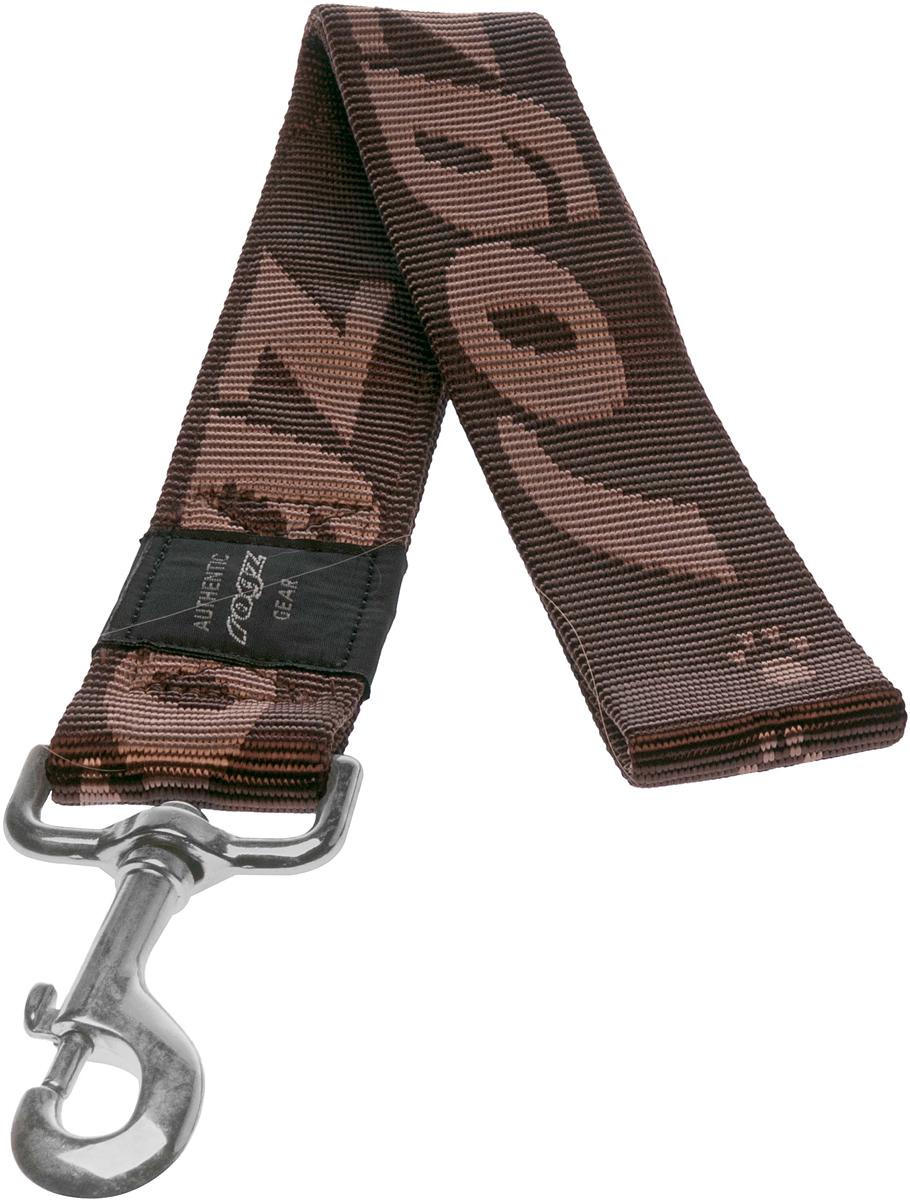 Поводок для собак Rogz Alpinist, цвет: коричневый, ширина 4 см. Размер XXLHL29JПоводок для собак Rogz Alpinist изготовлен из нейлона и снабжен металлическим карабином. Особо мягкая, но очень прочная лента обеспечит безопасность на прогулке даже самым активным собакам.Все соединения деталей имеют специальную дополнительную строчку для большей прочности. Выполненные специально по заказу Rogz литые кольца гальванически хромированы, что позволяет избежать коррозии и потускнения изделия.