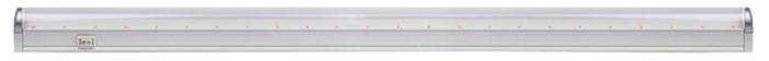 Светильник светодиодный для растений Jazzway Agro PPG T8i-900, линейный, с выключателем, IP20, 12 Вт.5000759Jazzway Светильник LED линейный для растений Agro PPG T8i-900 12W IP20 с выкл., шнуром и вилкой