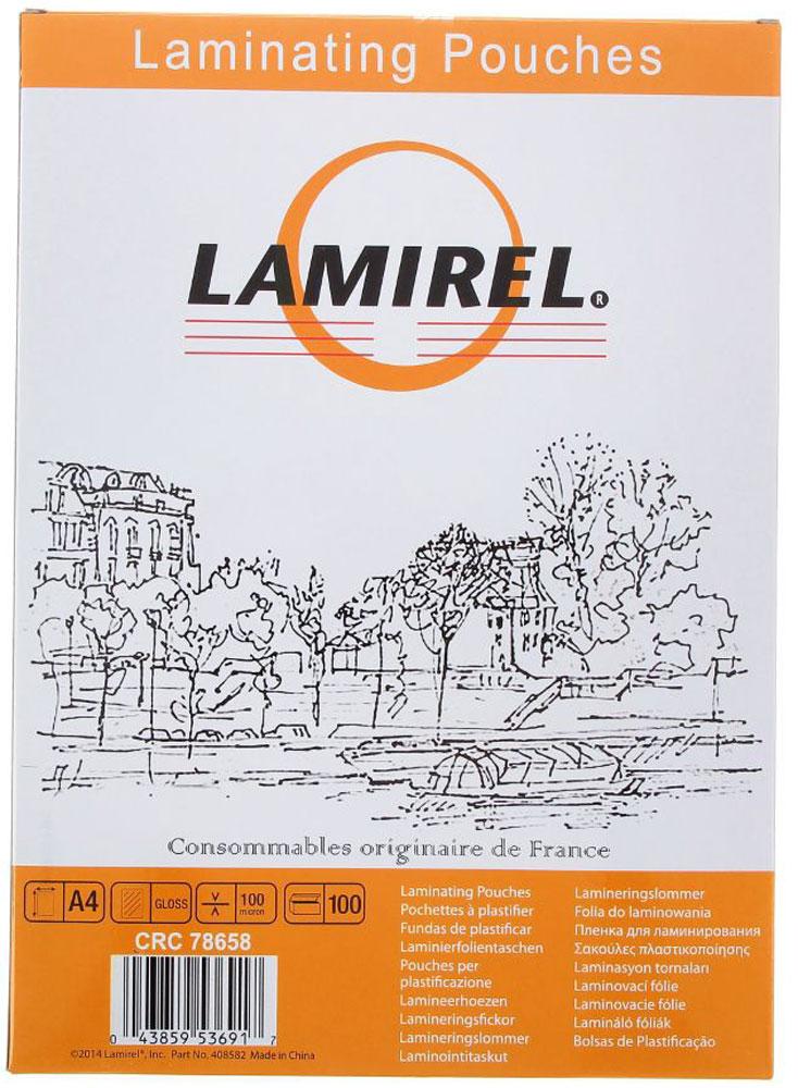 Lamirel А4 LA-78658 пленка для ламинирования, 100 мкм (100 шт)LA-78658Пакетная пленка Lamirel LA-78658 предназначена для защиты документов от нежелательных внешних воздействий.Обеспечивает улучшенную защиту от грязи, пыли, влаги. Документ дополнительно получает жесткость на изгиб изащиту от механического воздействия и потертостей. Идеально подходит для интенсивной эксплуатации.Глянцевое покрытие улучшает внешний вид документа: краски становятся глубже, ярче и контрастнее.