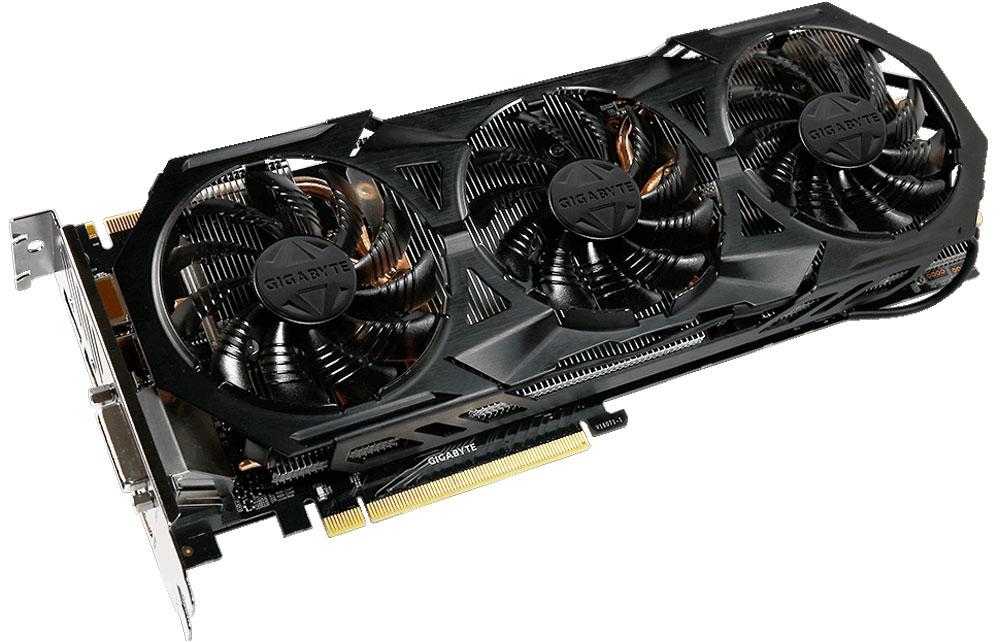 Gigabyte GeForce GTX 1070 G1 Rock 8G 8GB видеокартаGV-N1070G1 ROCK-8GDВидеокарта Gigabyte GeForce GTX 1070 G1 Rock создана, чтобы удовлетворить все требования опытных игроков. Основано на решении NVIDIA, архитектура GPU Pascal GPU.Будьте готовы к игровым сражениям с Geforce GTX 1070. Обеспечивает высокую производительность, добавляя продвинутые игровые технологии (NVIDIA GameWorks) и саму продвинутую игровую экосистему (GeForce Experience).Откройте для себя новое поколение VR, с низким показателем задержки, наушниками последнего поколения, благодаря технологии NVIDIA VRWorks. VR аудио (звуковые эффекты), реалистичная графика и физика предметов, позволяют вам прочувствовать и услышать каждый момент.Воздушный поток эффективно отводится от радиатора с помощью 3 вентиляторов диаметром 80 мм, лопасти которых имеют специальные насечки и форму. Благодаря этим характеристикам удается достичь высокого уровня отвода тепла, при высоких нагрузках и низкой температуре.Используется полу-пассивный режим работы, вентиляторы останавливают свою работу, если температура чипа не высокая, или нет достаточной нагрузки.Композитные медные трубки сочетают в себе два важных аспекта теплопереноса и способности забирать тепло из зоны прямого контакта. Таким образом повышается эффективность охлаждения на 29%. Медные трубки имеют прямую зону соприкосновения с графическим процессором.Настраиваемая RGB подсветка логотипа и индикатора работы вентилятора. Вам доступно 16.8 млн цветовых оттенков и различные схемы работы подсветки, вы можете установить необходимый режим с помощью программного обеспечения XTREME Engine.Металлическая задняя пластина усиливает конструкцию видеокарты, защищает элементную базу от внешнего механического воздействия и повреждений.Одним простым действием в программном обеспечении XTREME Engine, игроки могут легко настроить карту таким образом, чтобы удовлетворить различные игровые требования без специальных знаний.При производстве карты используются дроссели и конденсаторы вы
