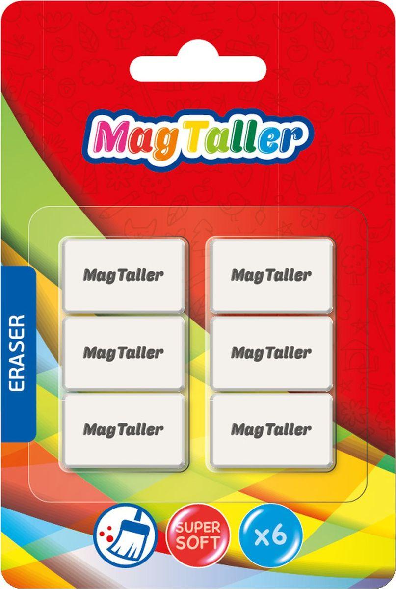 MagTaller Ластик Kumi Mini 6 шт605001Супермягкий ластик MagTaller станет прекрасным дополнением к канцелярскому набору для вашего ребенка, а также может пригодиться вам в офисе.