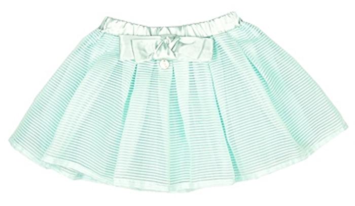 Юбка для девочки Vitacci, цвет: зеленый. 2162185-06. Размер 1042162185-06Пышная модная юбочка для маленькой модницы идеально подойдет для праздника или прогулки по парку.