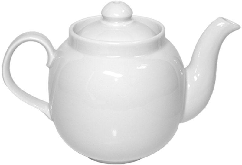 Чайник заварочный Дулевский Фарфор Янтарь. Белый, 700 мл