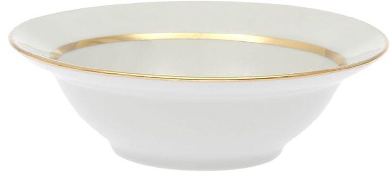Миска Дулевский Фарфор Монреаль, 500 мл036702Миска Дулевский Фарфор выполнена из высококачественного фарфора, покрытого глазурью. Такая миска пригодится на любой кухне. В ней можно сервировать различные блюда или использовать как суповую тарелку.