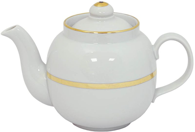 Чайник заварочный Дулевский Фарфор Янтарь. Монреаль, 700 мл811882Фарфоровая посуда считается классикой, ведь никакое время для нее не властно. Впервые появившись в Китае, фарфор присутствовал в домах богатых людей и являлся драгоценным подарком для любого европейца. Фарфор ценили на вес золота, и это неудивительно, ведь его качество и необыкновенные свойства славились на весь мир.Так, например, чайники из фарфора - это настоящая находка для ценителей чайной ароматной церемонии. Благодаря своим свойствам, фарфор способен удерживать тепло напитка продолжительное время.Заварочный чайник Янтарь. Монреаль имеет довольно простой рисунок на белоснежном фарфоре, который несомненно, привлечет Ваше внимание. Фарфор производства Дулевский Фарфор имеет высокую термическую и механическую стойкость, благородный внешний вид.Чайник заварочный Дулевский Фарфор Янтарь. Монреаль станет прекрасным украшением сервировочного стола. Чай из такого изделия будет невероятно ароматным и вкусным.