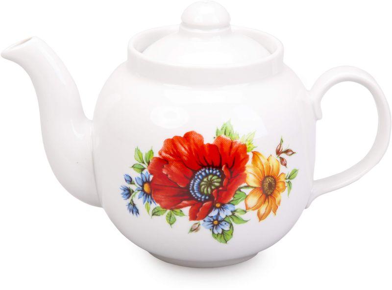 """Фарфоровая посуда считается классикой, ведь никакое время для нее не властно. Впервые появившись в Китае, фарфор присутствовал в домах  богатых людей и являлся драгоценным подарком для любого европейца. Фарфор ценили на вес золота, и это неудивительно, ведь его качество и  необыкновенные свойства славились на весь мир. Так, например, чайники из фарфора - это настоящая находка для ценителей чайной ароматной церемонии. Благодаря своим свойствам, фарфор  способен удерживать тепло напитка продолжительное время. Заварочный чайник """"Янтарь. Полевой мак"""" имеет довольно простой рисунок на белоснежном фарфоре, который несомненно, привлечет Ваше  внимание. Фарфор производства """"Дулевский Фарфор"""" имеет высокую термическую и механическую стойкость, благородный внешний вид. Чайник заварочный Дулевский Фарфор """"Янтарь. Полевой мак"""" станет прекрасным украшением сервировочного стола. Чай из такого изделия  будет невероятно ароматным и вкусным."""