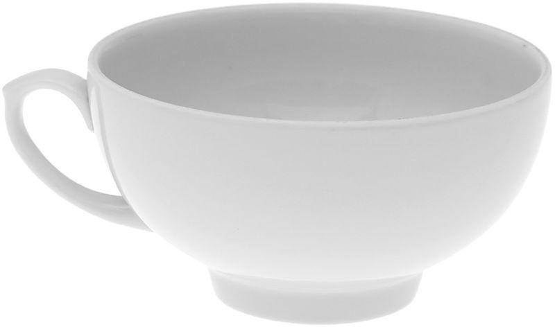 Чашка чайная Дулевский Фарфор Рубин. Белая, 220 мл020532Чашка Дулевский Фарфор Гранатовый выполнена из высококачественного фарфора. Посуда из такого материала позволяет сохранить истинный вкус напитка, а также помогает ему дольше оставаться теплым.