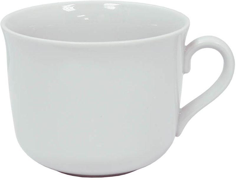 Чашка чайная Дулевский Фарфор Ностальгия. Белая, 450 мл065702Чашка Дулевский Фарфор выполнена из высококачественного фарфора. Посуда из такого материала позволяет сохранить истинный вкус напитка, а также помогает ему дольше оставаться теплым.