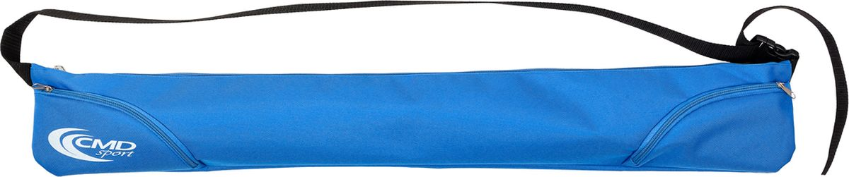 Чехол для палок для скандинавской ходьбы CMD Sport, цвет: синий, 90 см. CMD-bag-zipCMD-bag-zipЧехол CMD Sport для телескопических палок на молнии с карманами для мелочей, куда вы можете убрать ключи, запасные резиновые башмаки или телефон. Чехол подойдет для двух- и трехсекционных палок. Чехол с палками удобно переносить на плече. На время ходьбы чехол можно зафиксировать на поясе в виде поясной сумки, карманы на молнии окажутся у вас под рукой.Как выбрать инвентарь для скандинавской ходьбы. Статья OZON Гид