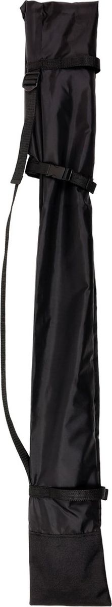 Чехол для палок для скандинавской ходьбы CMD Sport, цвет: черный, 140 смCMD-longbag-blackЧехол для удобной переноски 1 или 2 пар фиксированных скандинавских палок. В чехол можно убрать палки любой высоты от 100 до 140 см. Чехол оснащен лямками для удобства переноски и регулировки его высоты и ширины.