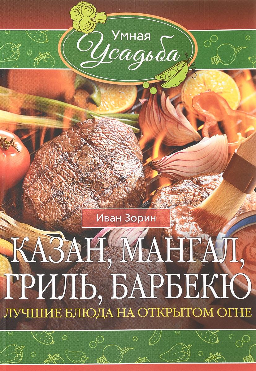Иван Зорин Казан, мангал, гриль, барбекю. Лучшие блюда на открытом огне