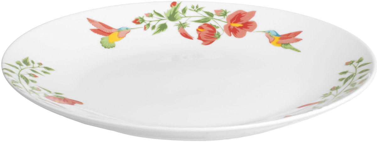 Тарелка обеденная Fioretta Exotic Garden, диаметр: 24 смTDP051