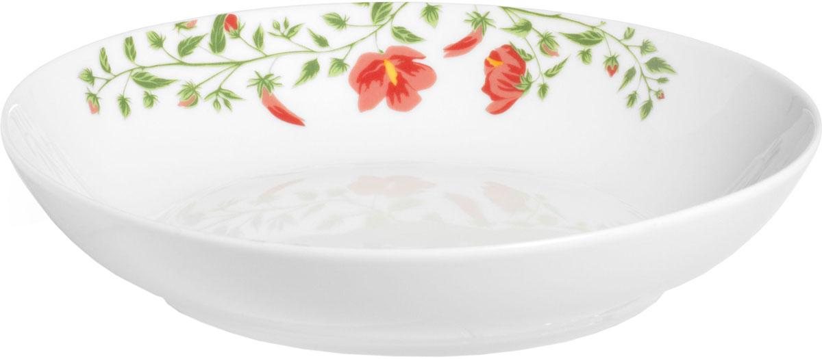 Тарелка суповая Fioretta Exotic Garden, диаметр: 21 смTDP052