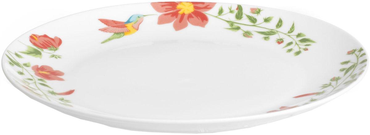 Тарелка десертная Fioretta Exotic Garden, диаметр: 19 смTDP053