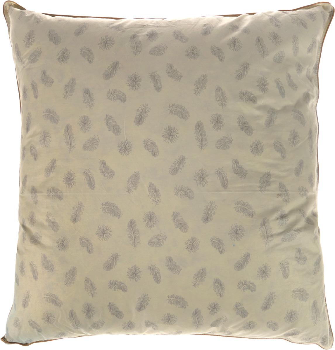 Подушка Ecotex Эдда, наполнитель: пух, 68 х 68 смЭПП77Подушка Ecotex Эдда обеспечивает покой, уют и здоровый сон. Чехол подушки выполнен из натуральной тиковой ткани (100% хлопок). В качестве наполнителя используется пух первой категории. Благодаря своим уникальным теплозащитным свойствам пух считается одним из ценнейших наполнителей. Сочетая в себе мягкость и упругость, он создает максимальный комфорт во время сна. Преимущества: - экологичность, - воздухопроницаемость, - мягкость, упругость и легкость, - исключительная теплоизоляция.