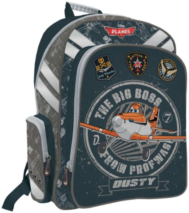 Рюкзак эргономичный с EVA-спинкой. Размер&nbsp 38 х 29 х 13 см, Planes -  Ранцы и рюкзаки
